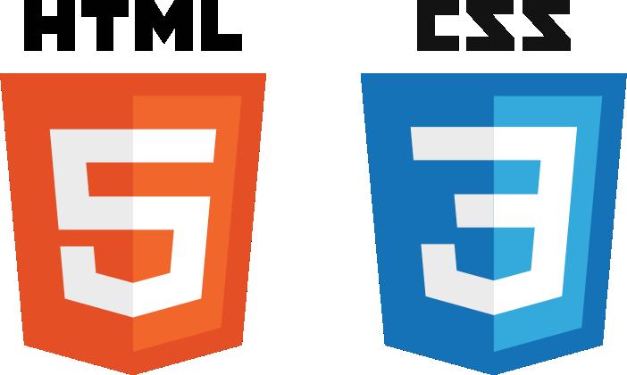 Logoene til HTML5 og CSS3